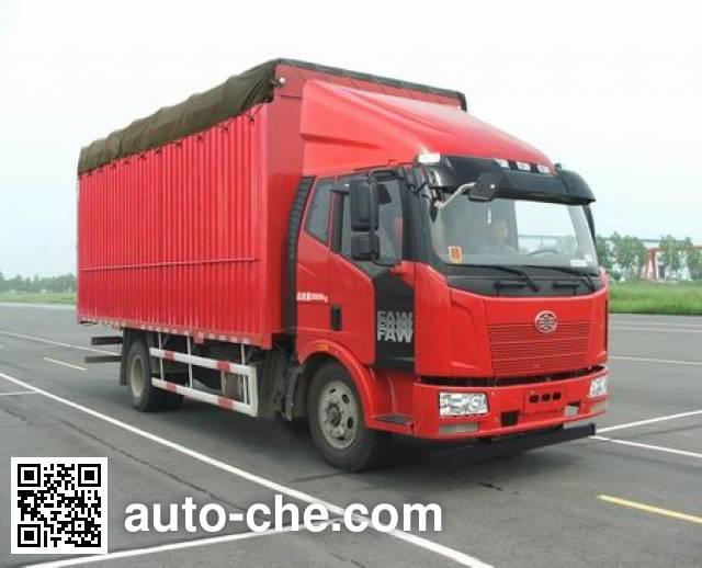 FAW Jiefang CA5140CPYP62K1L2E4 soft top box van truck