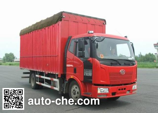 FAW Jiefang CA5160CPYP62K1L4E4 soft top box van truck