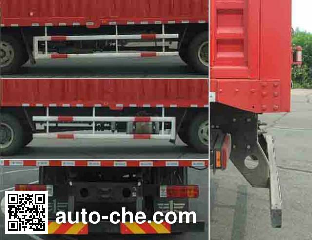 FAW Jiefang CA5190CPYP62K1L7T3E4 soft top box van truck