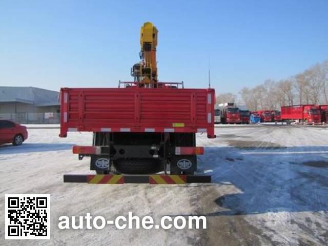 FAW Jiefang CA5160JSQP62K1L2E5 truck mounted loader crane