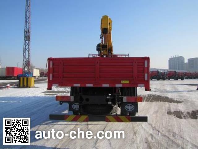 FAW Jiefang CA5160JSQP62K1L2A2E5 truck mounted loader crane