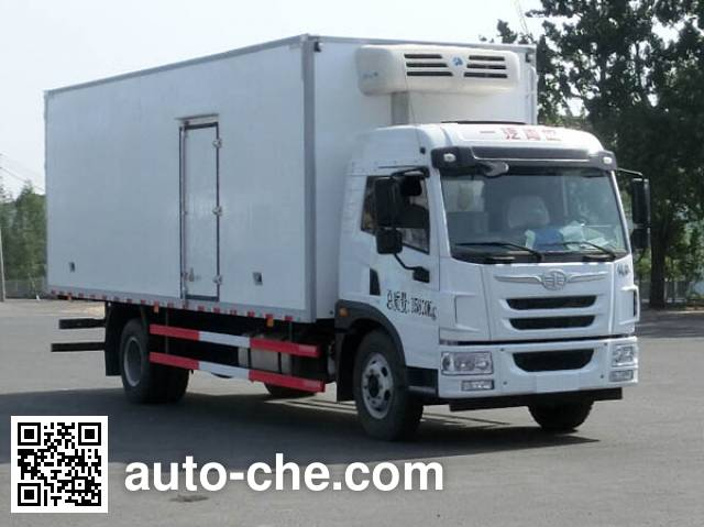 FAW Jiefang CA5160XLCPK2L5E4A80 refrigerated truck