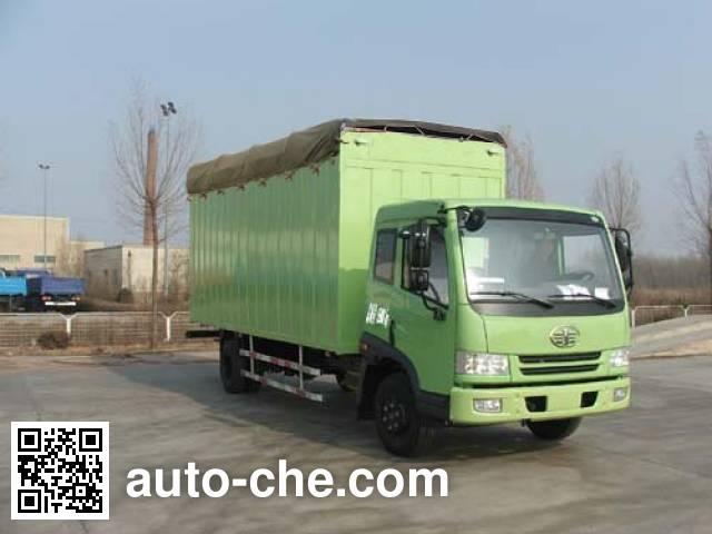 FAW Jiefang CA5160XXYP9K2L3E soft top box van truck