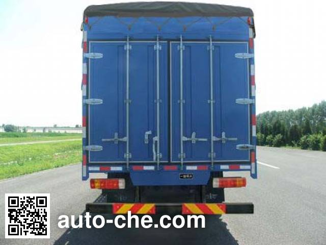 FAW Jiefang CA5163CPYP10K1L2E4 soft top box van truck