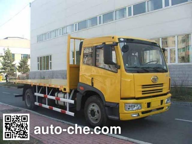 解放牌CA5163TPBP7K2L2E平板运输车