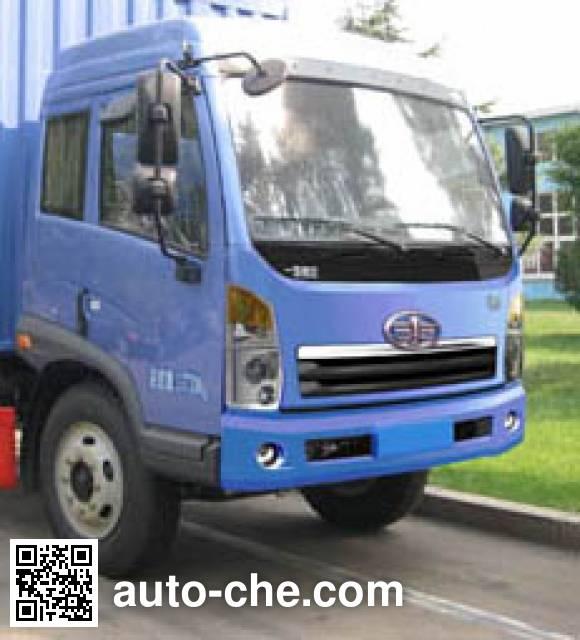 FAW Jiefang CA5147XXYPK2L2EA80-2 soft top box van truck