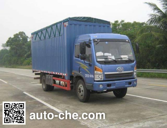 FAW Jiefang CA5167CPYPK2L2NA80-2 soft top box van truck