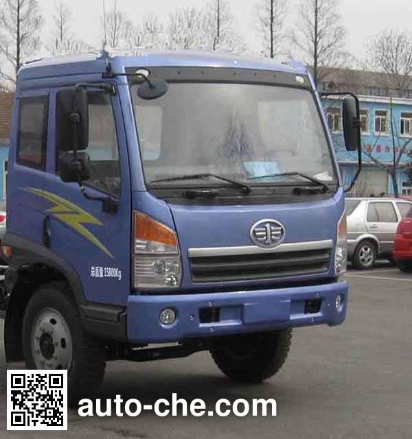 FAW Jiefang CA5161CPYPK2L2EA80-2 soft top box van truck