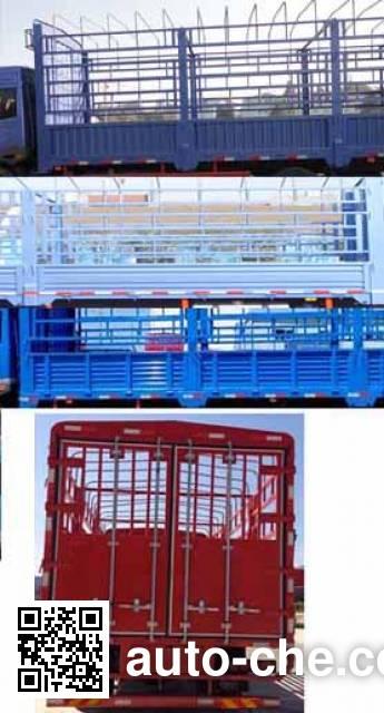FAW Jiefang CA5170CCYPK2L6T3E4A80-1 stake truck