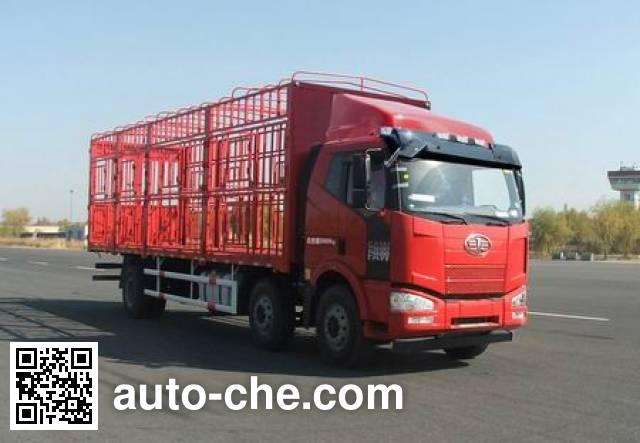 解放牌CA5200CCQP63K1L6T3E4畜禽运输车