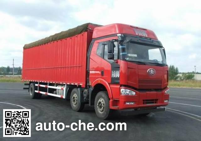 FAW Jiefang CA5200CPYP63K1L6T3E4 soft top box van truck