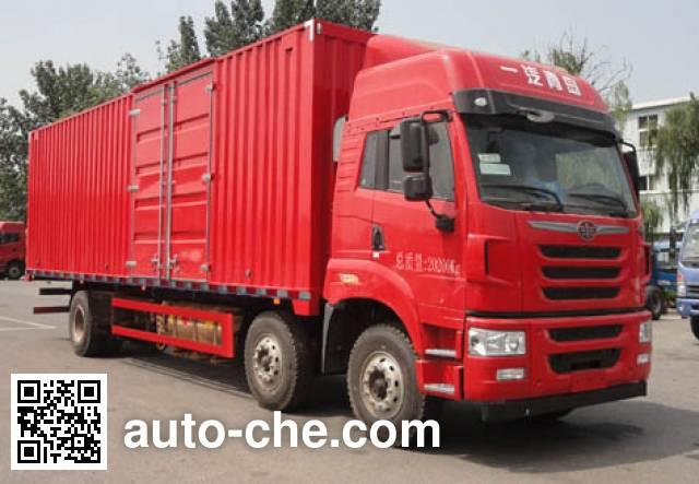 FAW Jiefang CA5200XXYP1K15L7T3NE5A80-3 box van truck