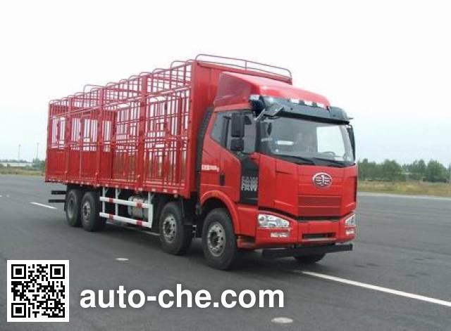 解放牌CA5240CCQP63K2L6T10AE4畜禽运输车
