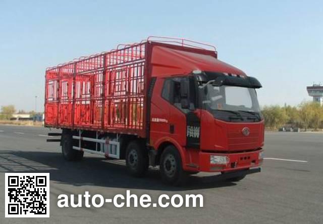 解放牌CA5250CCQP62K1L8T3E4畜禽运输车