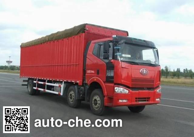 FAW Jiefang CA5250CPYP63K2L6T3E4 soft top box van truck