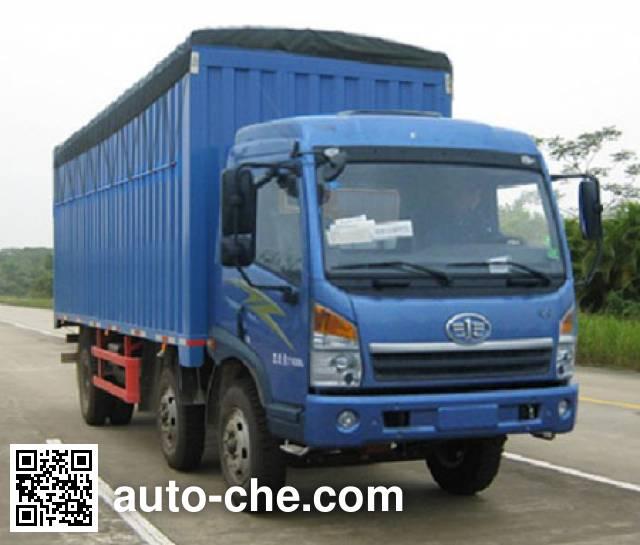 FAW Jiefang CA5250CPYPK2L7T3E4A80-2 soft top box van truck
