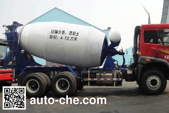 解放牌CA5250GJBP2K15T1NA80混凝土搅拌运输车