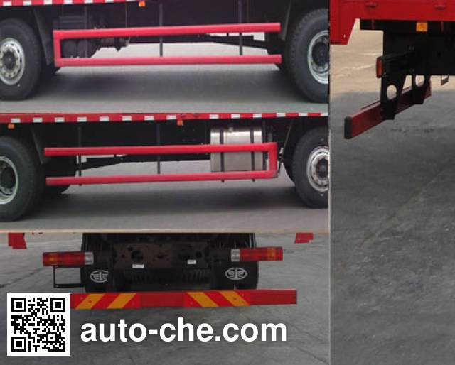 FAW Jiefang CA5200XXYP1K2L7T3E5A80-3 box van truck