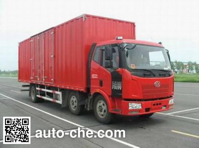 FAW Jiefang CA5250XXYP62K1L5T3A1E diesel cabover box van truck