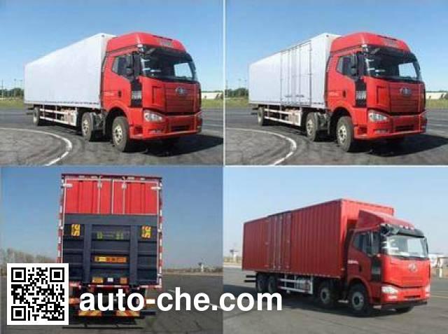 FAW Jiefang CA5250XXYP63K1L6T3A1E diesel cabover box van truck