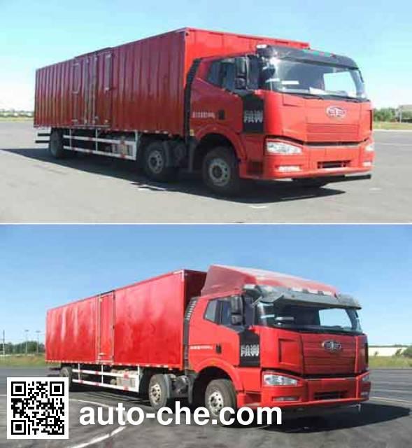 FAW Jiefang CA5250XXYP63K1L6T3AE4 box van truck
