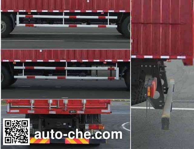 FAW Jiefang CA5250XXYP63K1L6T3A4E soft top box van truck
