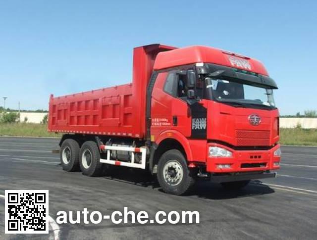 FAW Jiefang CA5250ZLJP66K24L0T1E4 dump garbage truck