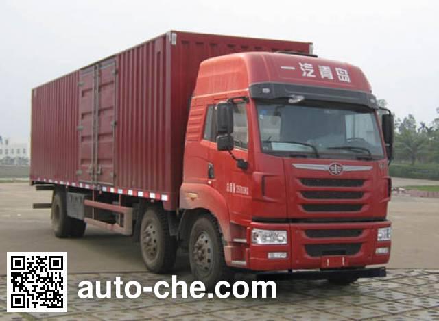 解放牌CA5251XXYP2K2L7T3E4A80-3厢式运输车