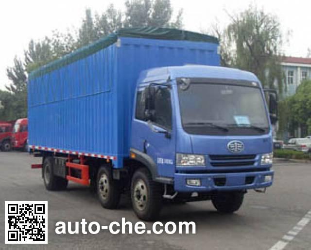 FAW Jiefang CA5250XXYPK2L7T3EA80-2 soft top box van truck