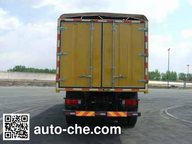 FAW Jiefang CA5300XXYP66K2L6T4E soft top box van truck