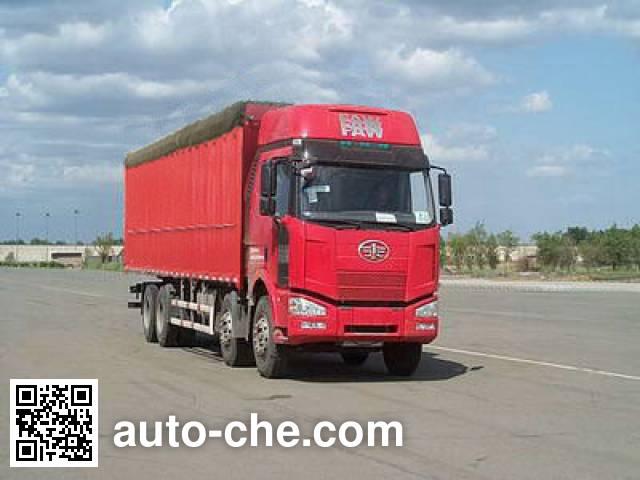 FAW Jiefang CA5310CPYP63K1L6T4A1E4 soft top box van truck