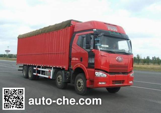 FAW Jiefang CA5310CPYP66K1L7T4E4 soft top box van truck