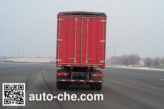 FAW Jiefang CA5310XXYP63K2L6T4A2E diesel cabover box van truck with canopy top