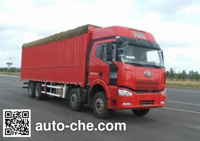 FAW Jiefang CA5310CPYP66K2L7T4E4 soft top box van truck
