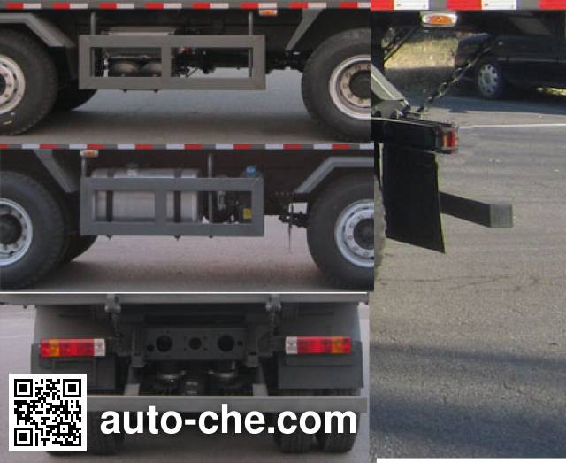 FAW Jiefang CA3310P1K2L4T4E5A80 diesel cabover dump truck