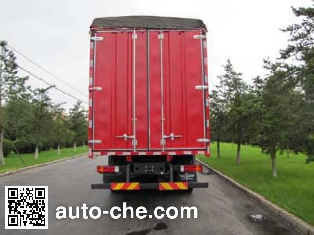 FAW Jiefang CA5312CPYP22K2L4T4E4 soft top box van truck