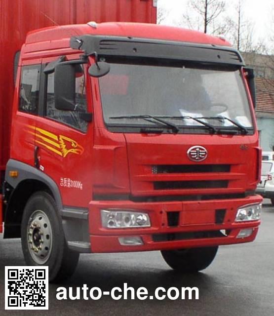 FAW Jiefang CA5310XXYP1K2L7T4EA80-2 soft top box van truck