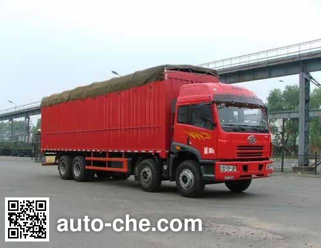 FAW Jiefang CA5312XXYP21K2L2T4CE soft top box van truck