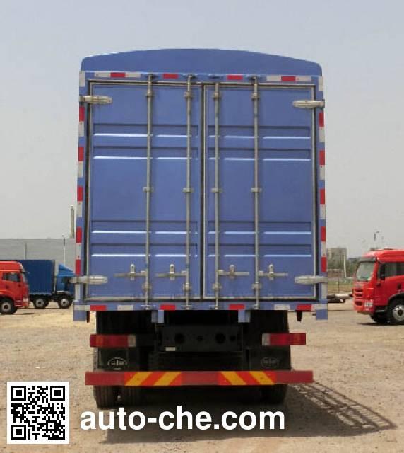 解放牌CA5313CCQP2K2L7T4E5A80畜禽运输车
