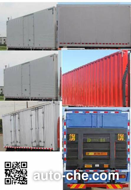 FAW Jiefang CA5180XXYP1K2L7E5A80 box van truck