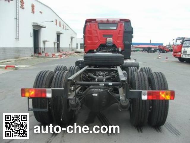 FAW Jiefang CA5450THBP66K24L7T4E5 concrete pump truck chassis