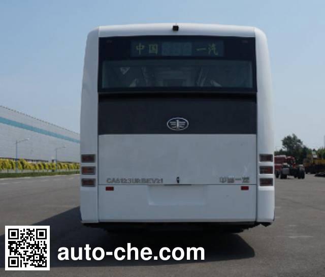 解放牌CA6123URBEV21纯电动城市客车