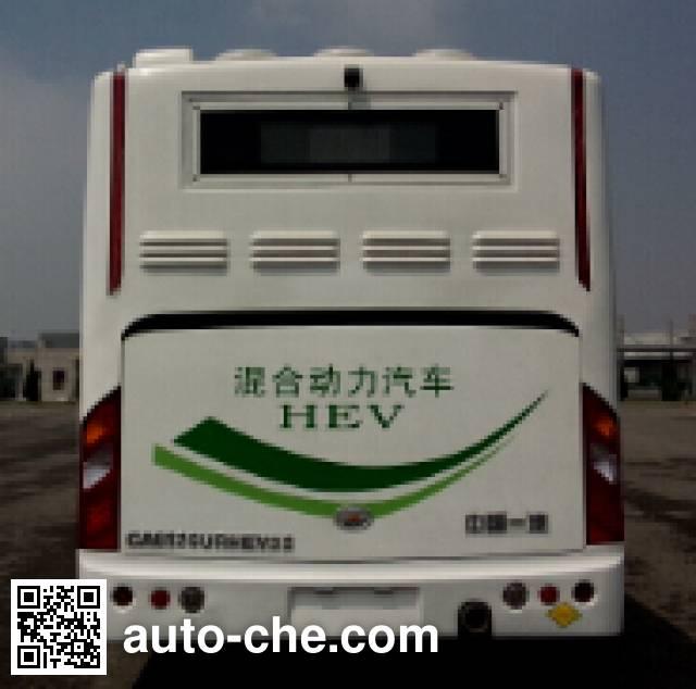 FAW Jiefang CA6126URHEV32 hybrid city bus