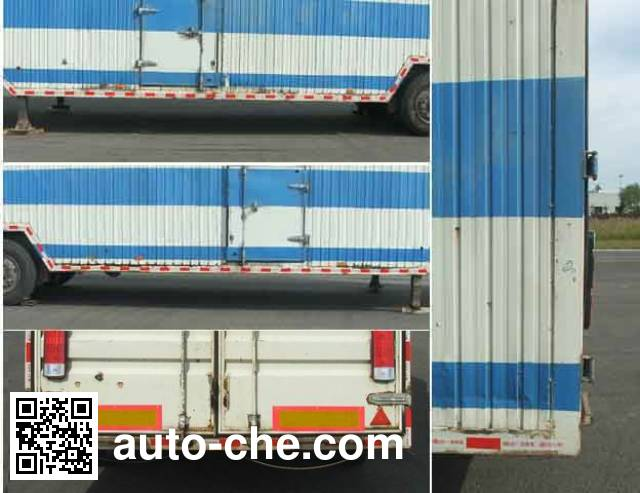 FAW Jiefang CA9200TCL vehicle transport trailer