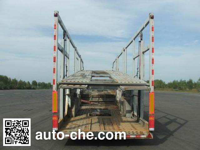 FAW Jiefang CA9201TCL vehicle transport trailer