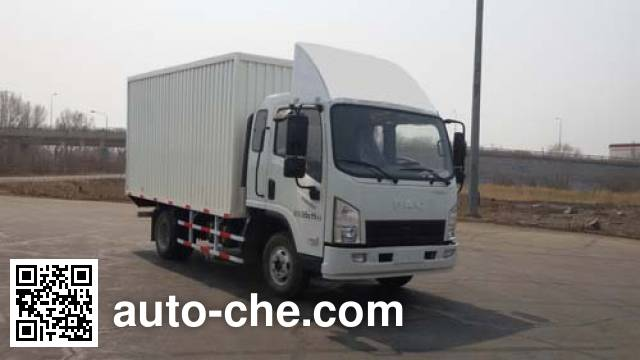 FAW FAC Linghe CAL2040XXYDCRE4 cross-country box van truck