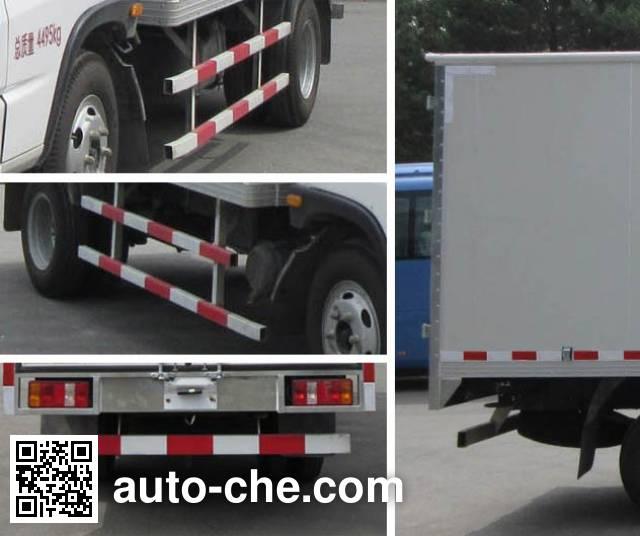 FAW FAC Linghe CAL5040XXYDCRE4 box van truck