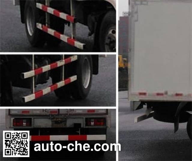 FAW FAC Linghe CAL5040XXYDCRE5 box van truck