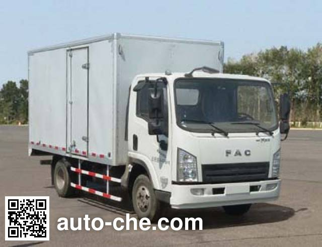 FAW FAC Linghe CAL5081XXYDCRE4 box van truck