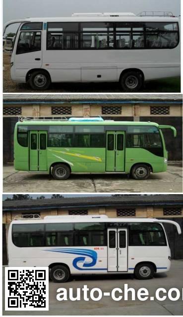 川马牌CAT6660C4GE城市客车